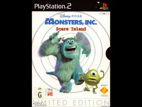 Monsters, Inc. Scare Island Soundtrack/Music - City Park (HD)