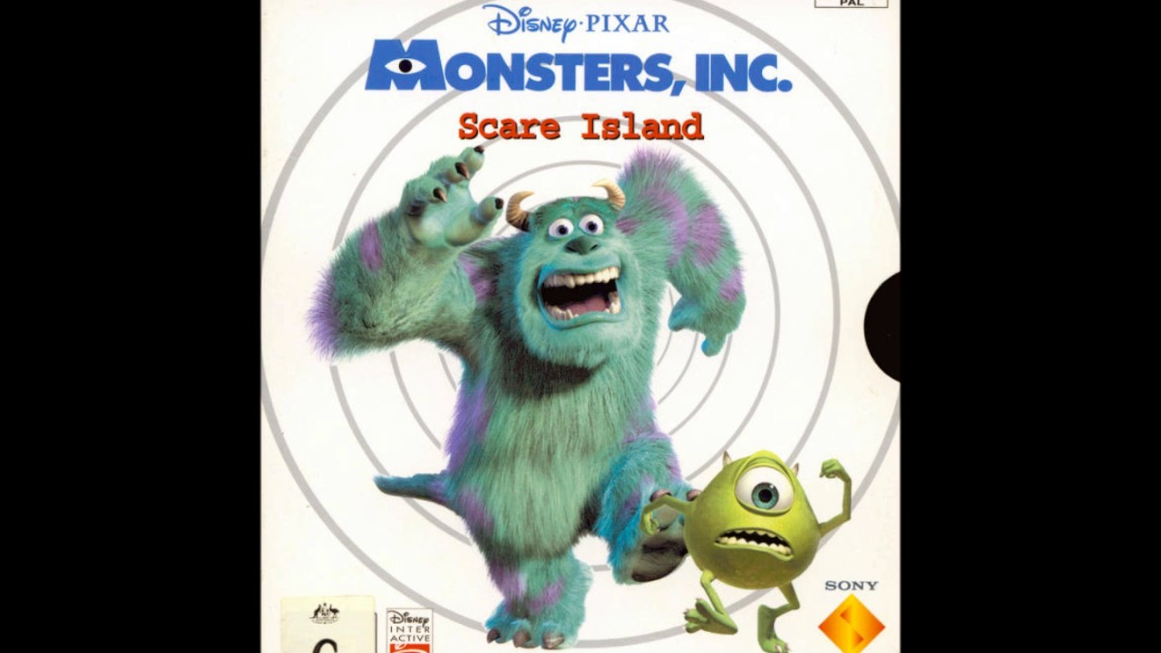 monsters inc scare island soundtrack music city park hd youtube