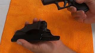 CYA Supply Co. IWB Holster Fits: Glock 43 / Glock 43X Conceal Carry Waistband Holster Review