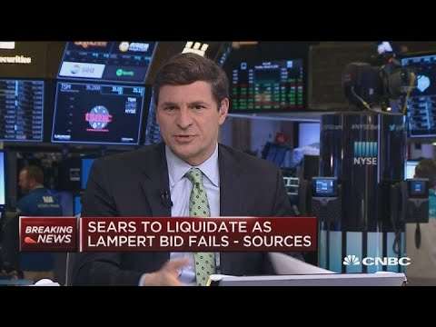 Jim Cramer on Sears: Lampert should have been in his stores