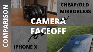 iPhone X VS Old Cheap Mirrorless Camera - Lumix GF3 VS iPhone X Camera Test