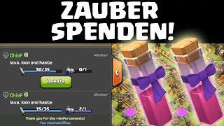 DUNKLEN ZAUBER SPENDEN! - RATHAUS 11 UPDATE || CLASH OF CLANS Sneak Peek #6