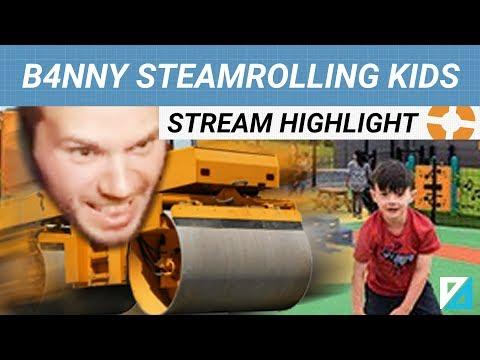 [TF2] B4NNY STEAMROLLS EVERYONE (ESPECIALLY KIDS)
