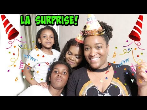 La SAKINA FAMILY fait une super surprise à MAELLIA