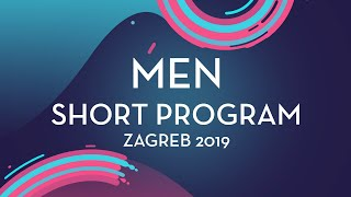 Gabriele Frangipani (ITA) | Men Short Program | Zagreb 2019