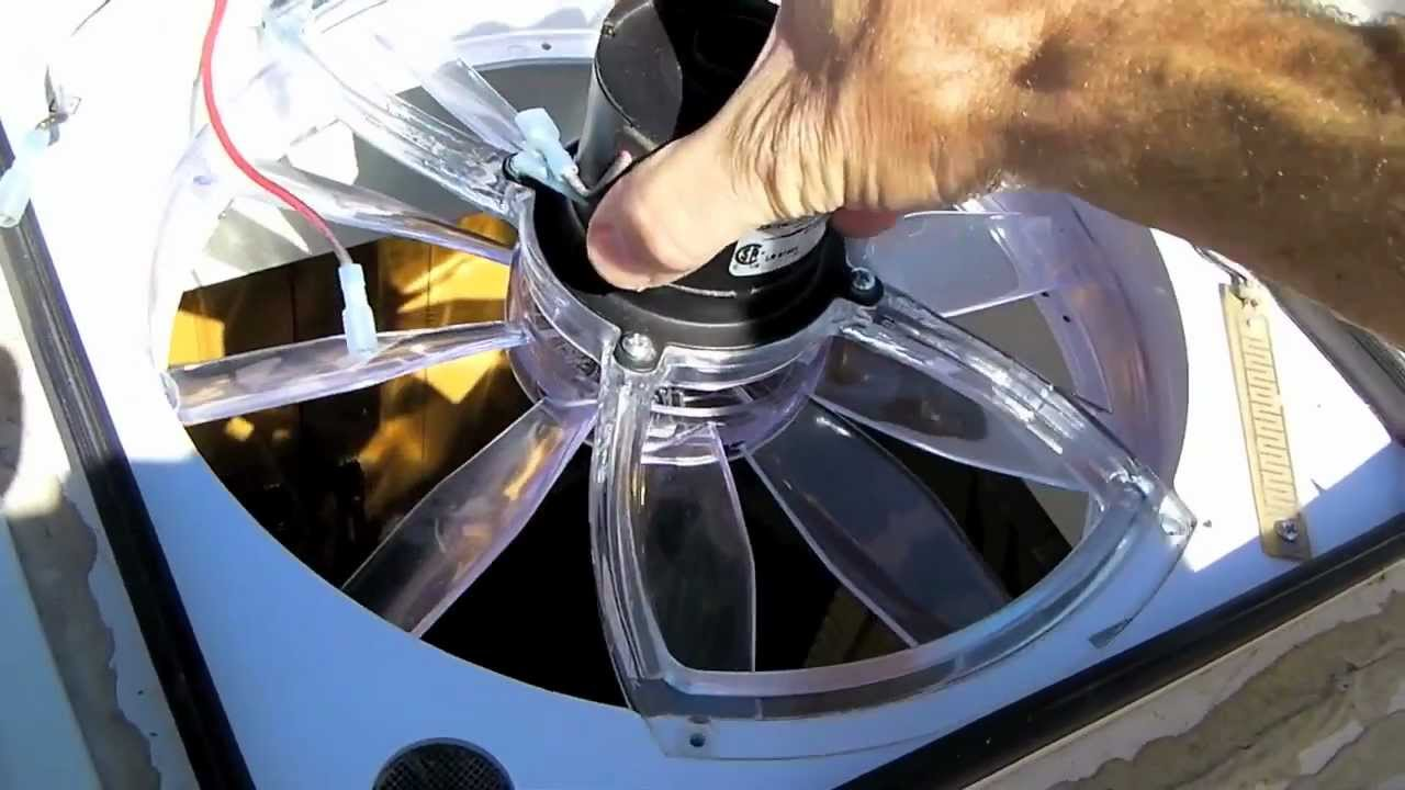 How To Clean An Rv Vent Fan Youtube Motor Wiring Diagram Also 98 05 Vw Beetle On Ceiling Reverse