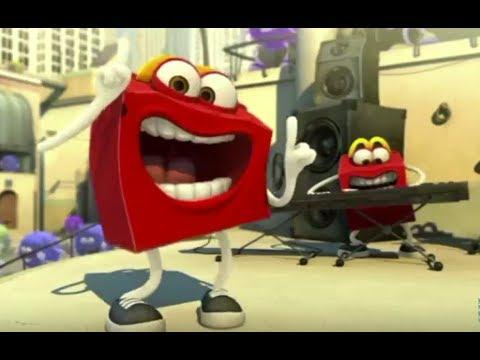 McDonald's Happy Meal Commercials Compilation McLanche Feliz