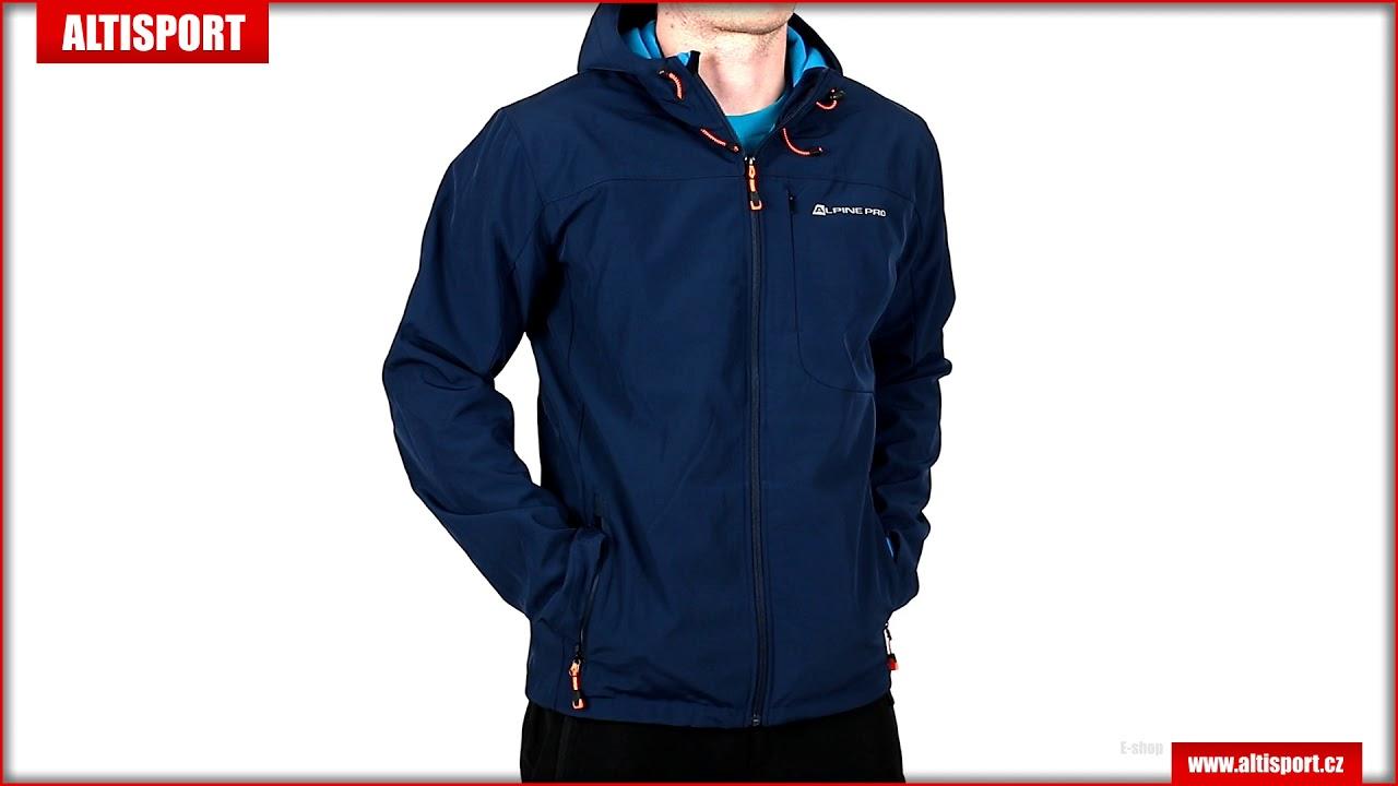 pánská softshellová bunda alpine pro nootk 2 mjck208 tmavě modrá ... 5a85febf4d1