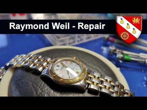 Raymond Weil Ladies Watch - Repair And Service