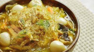 Download lagu Littlechef's Chicken Sotanghon Soup - Glass Noodles Soup 🎧
