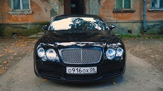 Японский мотор в Bentley Continental GT 2005 б/у