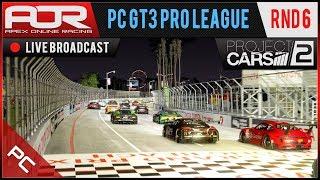 Project CARS 2 - AOR PC GT3 Pro League - Season 9 - Round 6 - Long Beach