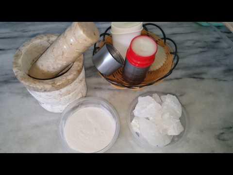 DIY;HOME MADE NATURAL DEODORANT USING ROASTED ALUM CRYSTALS