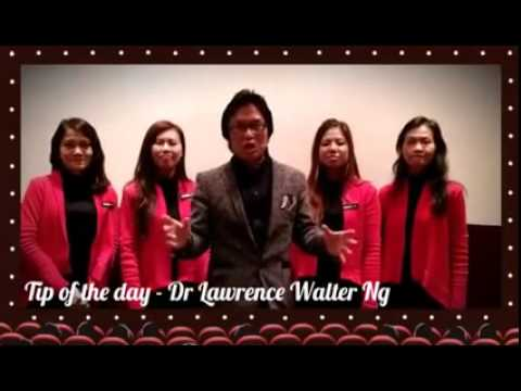 Tip Of The Day - Dr. Lawrence Walter Ng