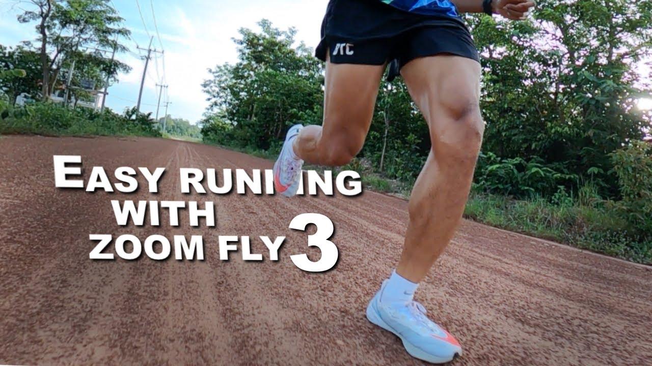 [VLOG] Easy Run With Nike Zoom Fly 3 : รีวิวรองเท้าซูมฟลาย3 และ ชีวิตในการซ้อมวิ่งในช่วงนี้