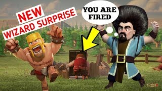Clash of clans {NEW WIZARD SURPRISE} COC