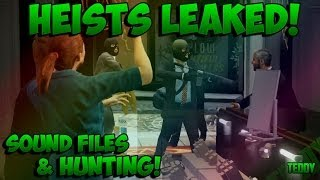 """GTA 5 ONLINE : """"LEAKED HEIST INFO"""" SOUND FILES, RARE ANIMALS AND HUNTING"""