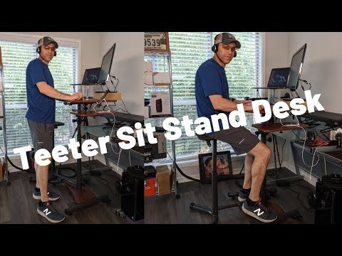 Teeter Sit Stand Up Desk