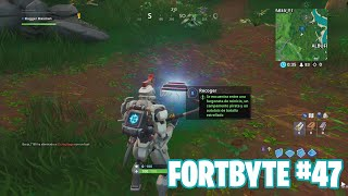 Fortnite Battle Royale ? Fortbyte Challenges How to get the Fortbyte #47
