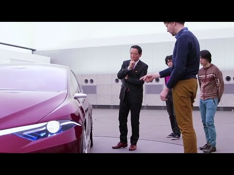 Beauty, Art and Design -Toyota global site-