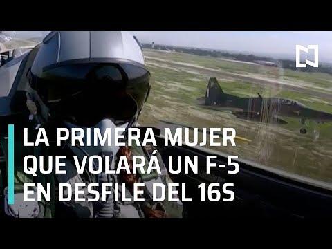 Primera mujer piloto mexicana volará en desfile militar - Despierta