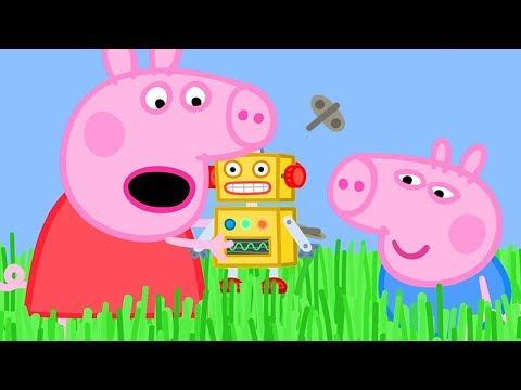 Peppa Pig Official Channel  ❤️New Season ❤️ Long Grass is Stopping Peppa Pig's Robot from Walking