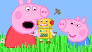 Peppa Pig Official Channel  ��New Season �� Long Grass is Stopping Peppa Pig's Robot from Walking