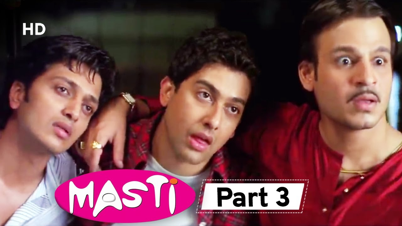 Masti  - Superhit Comedy Movie Part 3 - Vivek Oberoi - Aftab Shivdasani - Riteish Deshmukh#Comedy