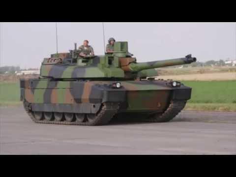French Army got new tank AMX 56 Leclerc