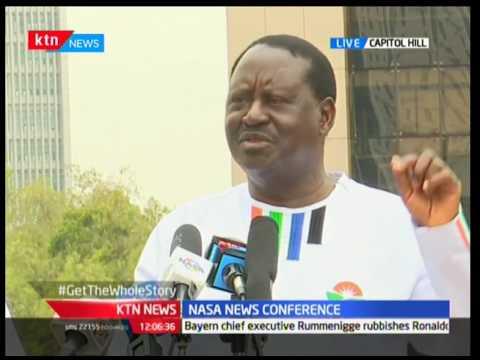 Raila Odinga links a section of the Chamber of Commerce to the ballot papers printing saga