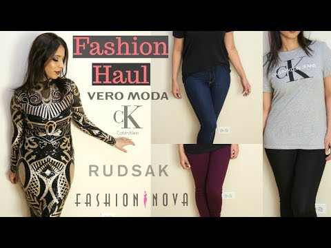 Mini Fashion Haul | Fashion Nova, Vero Moda, Rudsak | Arzan Blogs