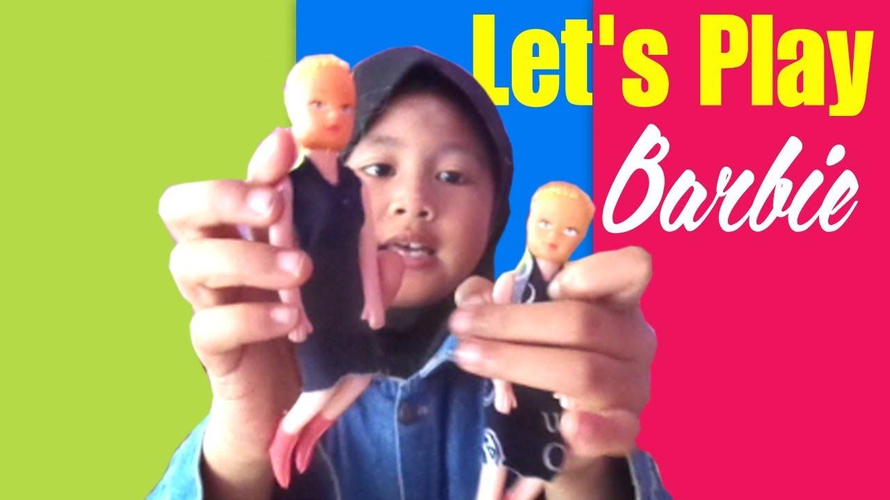 Mainan Anak Perempuan Barbie Bermain Boneka Barbie Barbiean Family Fun Pack Indonesia Youtube