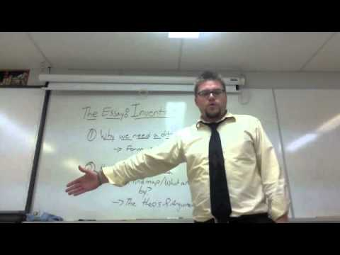 ENG4U/ENG2D The Essay - Invention