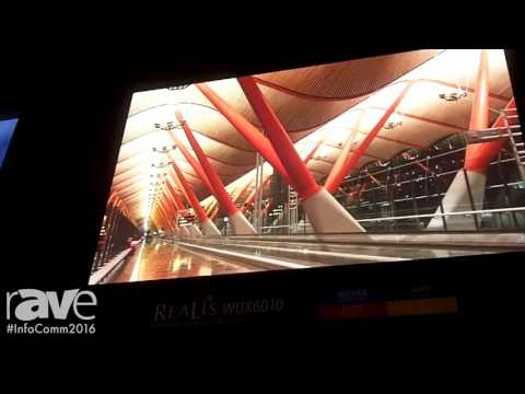 InfoComm 2016: Canon Introduces REALiS WUX6010