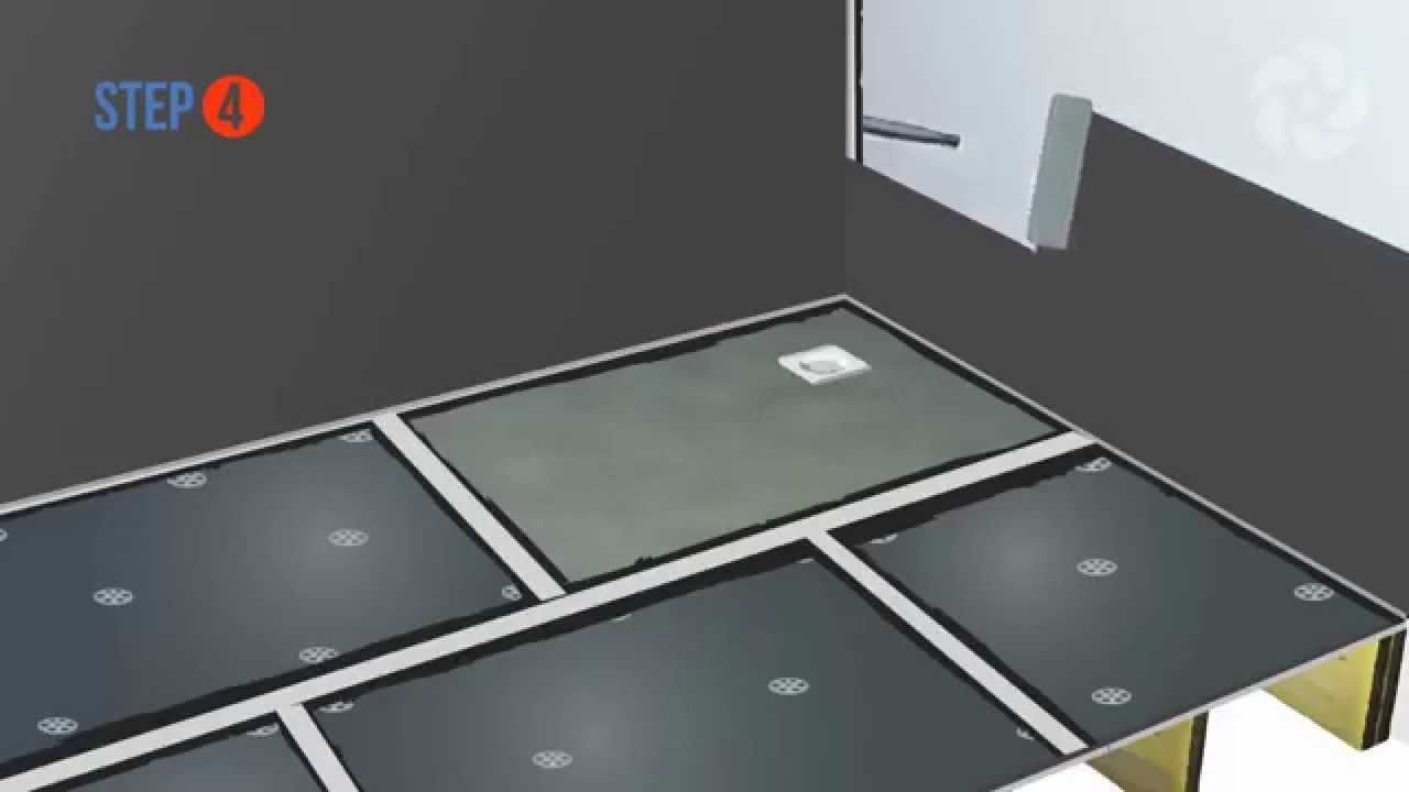Tanking A Wetroom Base On A Wooden Floor Wetrooms Online Youtube