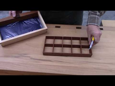 Making Jewelry Box Drawer Dividers