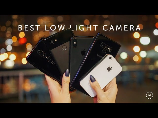 BEST Lowlight Camera | Note 9 vs iPhone X vs Pixel 2 XL vs OnePlus 6 ... iPhone 4