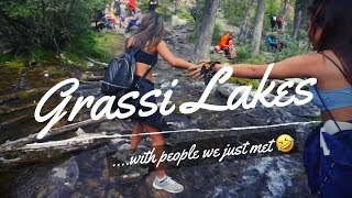 Hiking Grassi Lakes & First time camping without parents HAHA