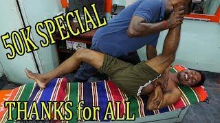 50K Special Video Full Body Oil Massage Asmr Raja Master Very Interesting