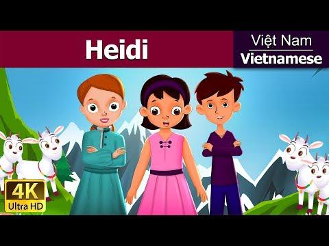 Heidi - Chuyện kể đêm khuya - Phim hoạt hình - 4K UHD - Vietnamese Fairy Tales