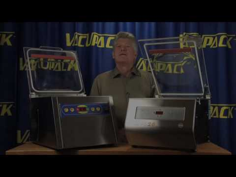 Vacuum Sealer Machines, MVS31- MVS26 Chamber Units