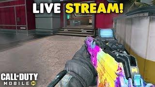 🔴 NEW HALLOWEEN UPDATE! 🔴 Call of Duty Mobile LIVE Nukes! #CallofDutyMobile #OmenElite