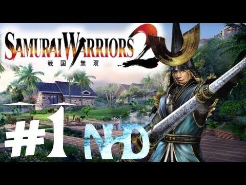 Let's Play Samurai Warriors 2 Nagamasa Azai Ch1 Battle Of Anegawa