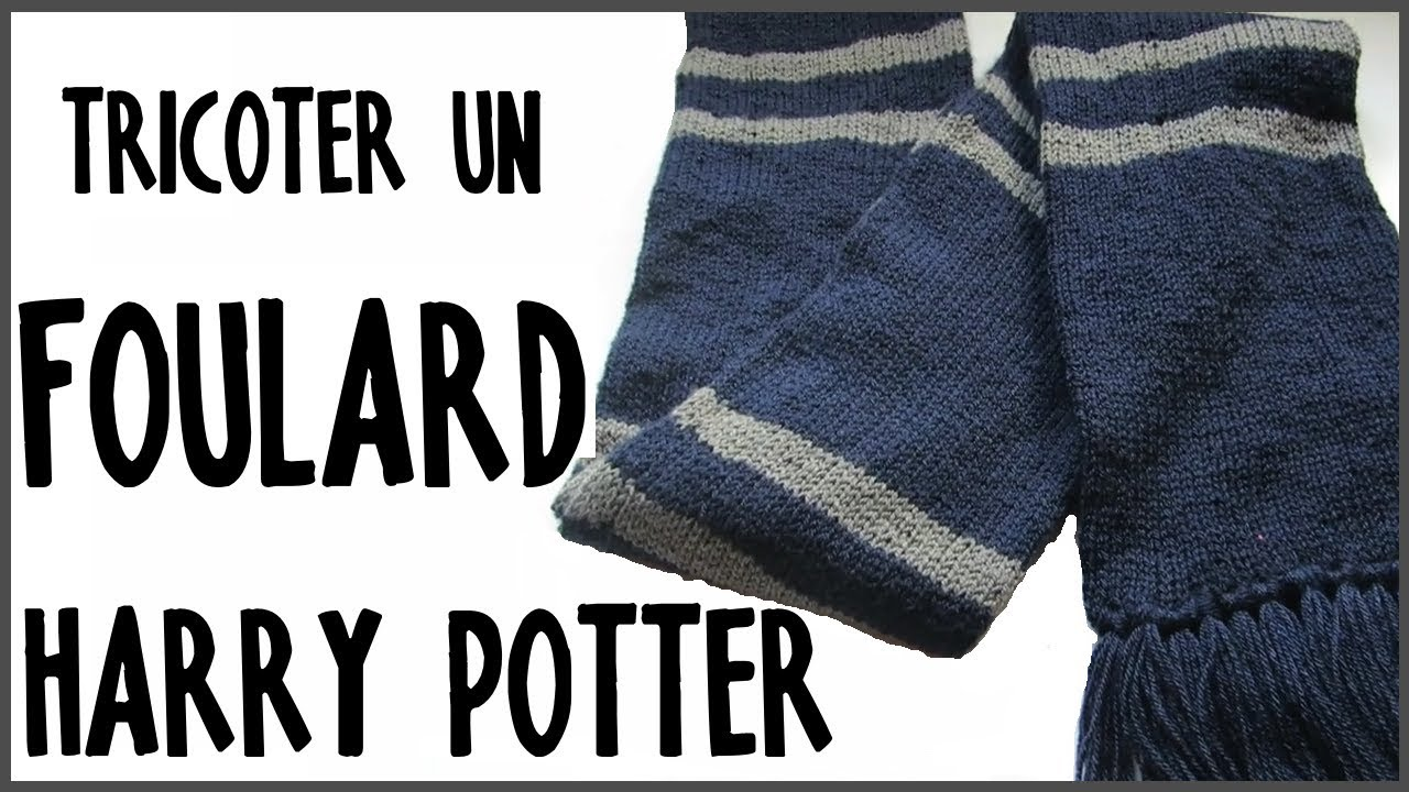 Tricoter un foulard Harry Potter