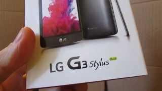 Celular LG G3 Stylus Dual D690 Nacional 3G na ConectadoShop