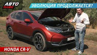 Тест Honda CR-V нового поколения