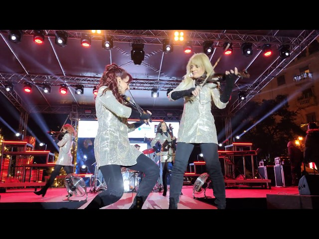 Magic Christmas 2020 - Fortissimo at New Years Eve in Aristotelous square in Thessaloniki