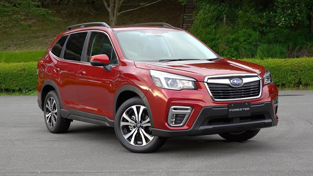 All New 2019 Subaru Forester Review Exclusive First Drive Youtube