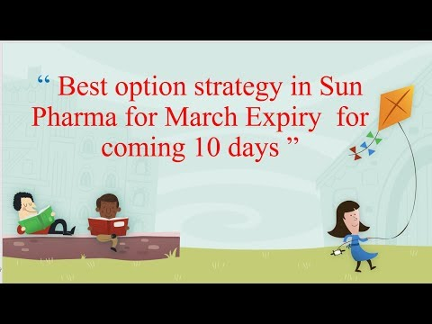 Option strategy in Sun Pharma for March Expiry