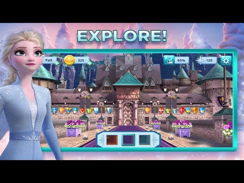 Disney Frozen Adventures: A New Match 3 Game Android Gameplay